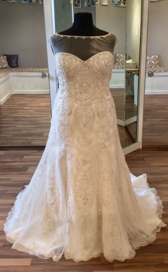 Fit and Flare Bridal Gown – Koda Bridal | Plus-size Bridal ...